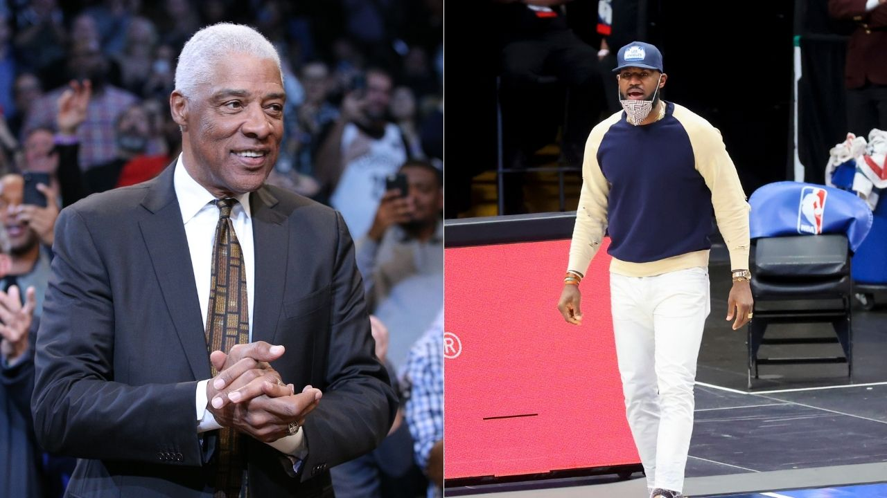 """Kendrick Perkins ridicules Julius Erving for his controversial LeBron James take: """"Some of these old heads can't even hide it no more"""""""