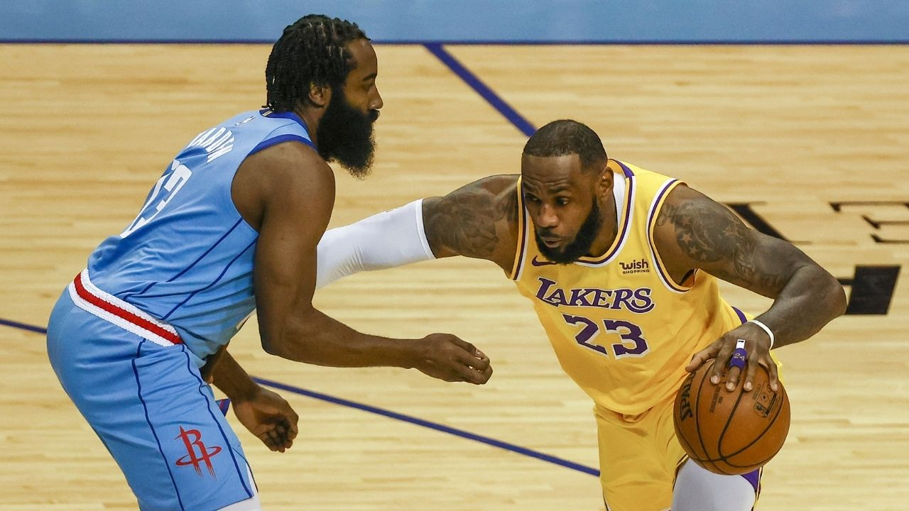"""""""Hey LeBron James, a storm is coming"""": Skip Bayless plays down the Lakers' win over Kevin Durant and co by warning them about Kawhi Leonard's Clippers"""