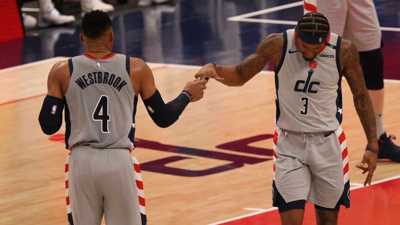 """""""Russell Westbrook is all about winning and team play"""": Bradley Beal praises his Wizards co-star after another monster triple-double"""