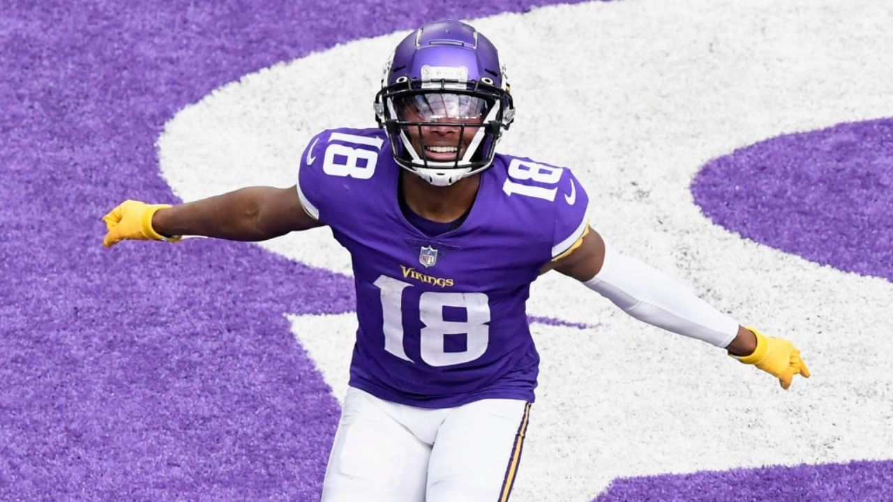 """I'm definitely, definitely, definitely excited that I'm on the Vikings rather than Philly."" Vikings WR Justin Jefferson subtly disses the Philadelphia Eagles with recent comment."