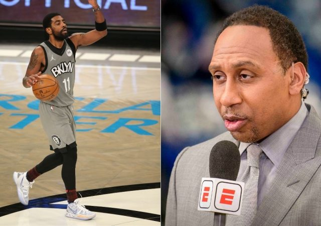 """""""Kyrie Irving is a distraction, who has left his teammates Kevin Durant and James Harden in a fix"""": Stephen A. Smith goes off on a rant against the Nets star"""