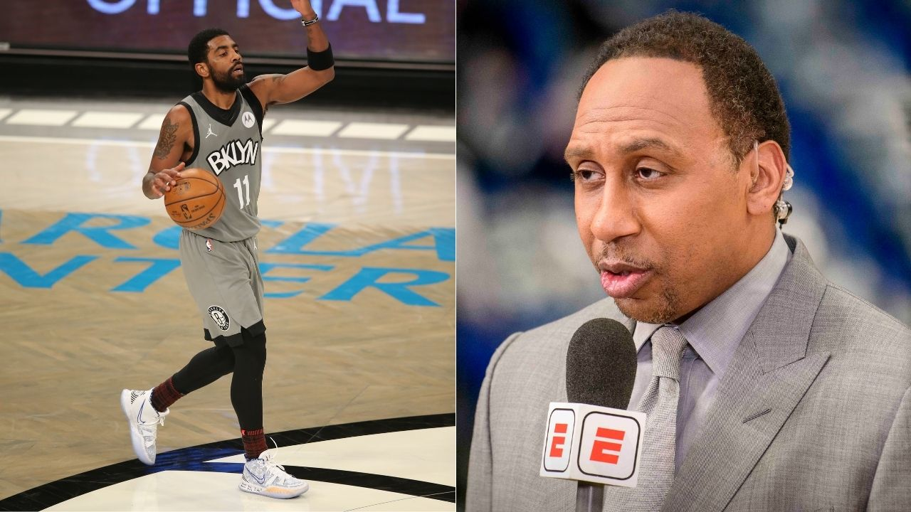 """""""I don't recall Kyrie Irving at any point saying, 'here is your money back'"""": Stephen A Smith lays into Nets star for his latest leave of absence for 'personal reasons'"""