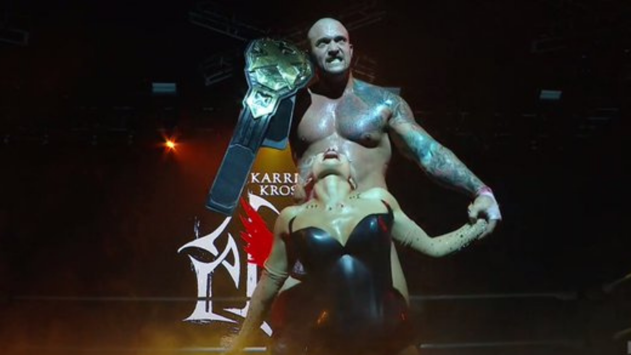 Karrion Kross overcomes Finn Balor to become two time NXT Champion at TakeOver Stand and Deliver