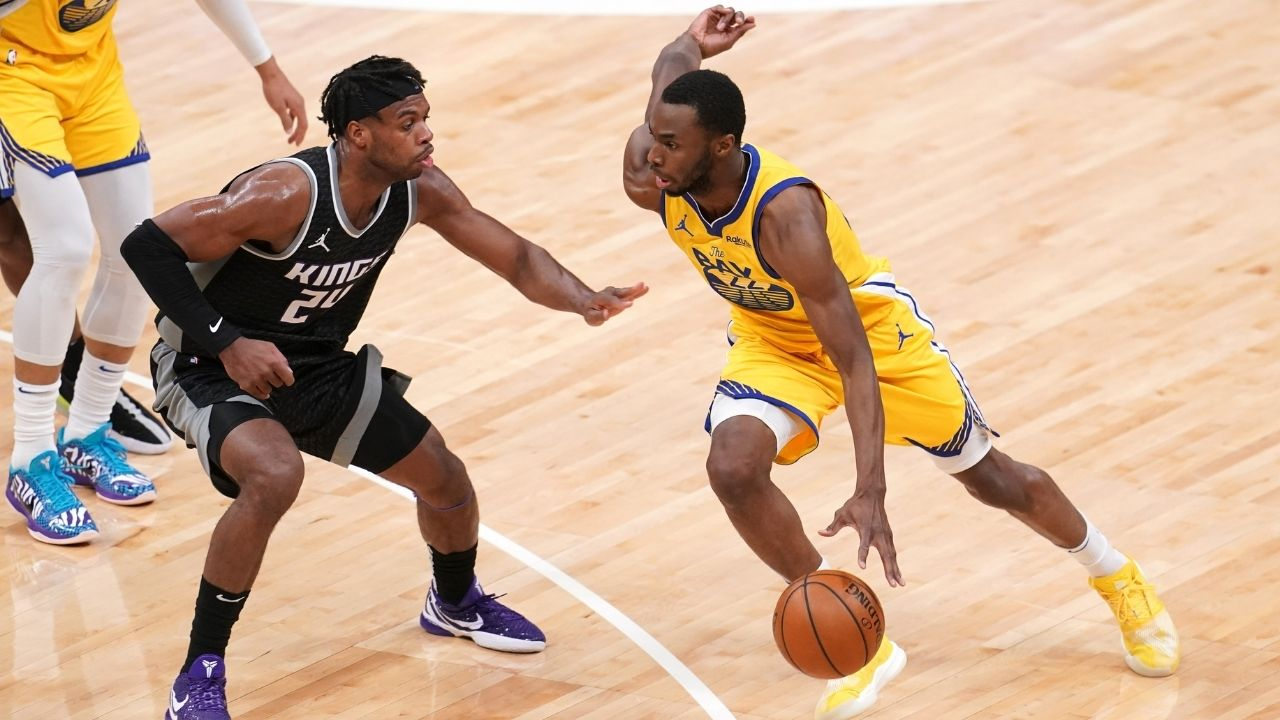 """""""Andrew Wiggins is like the starting pitcher who eats up innings"""": Warriors' Steve Kerr is amazed by the Canadian swingman's durability"""