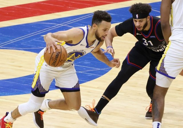 """""""MVP Stephen Curry!"""": Sixers fans chant Warriors legend's name aloud after he drops 49 points against Joel Embiid and co"""