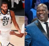 """""""Need Michael Jordan type stats to get that type of money"""": Shaquille O'Neal admits to being jealous of the Jazz star Rudy Gobert's $205 million contract"""