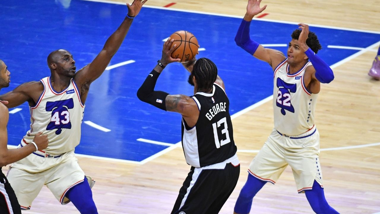 """""""ESPN really showed a fake Paul George stat"""": NBA Fans shocked by national TV network's incorrectly displayed clutch shooting stats for the Clippers star"""