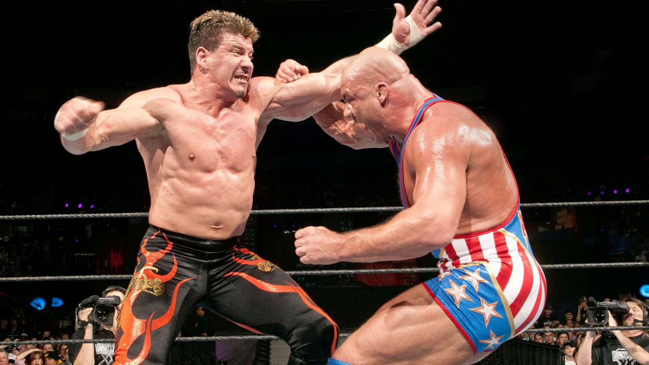 Kurt Angle recalls backstage brawl with Eddie Guerrero