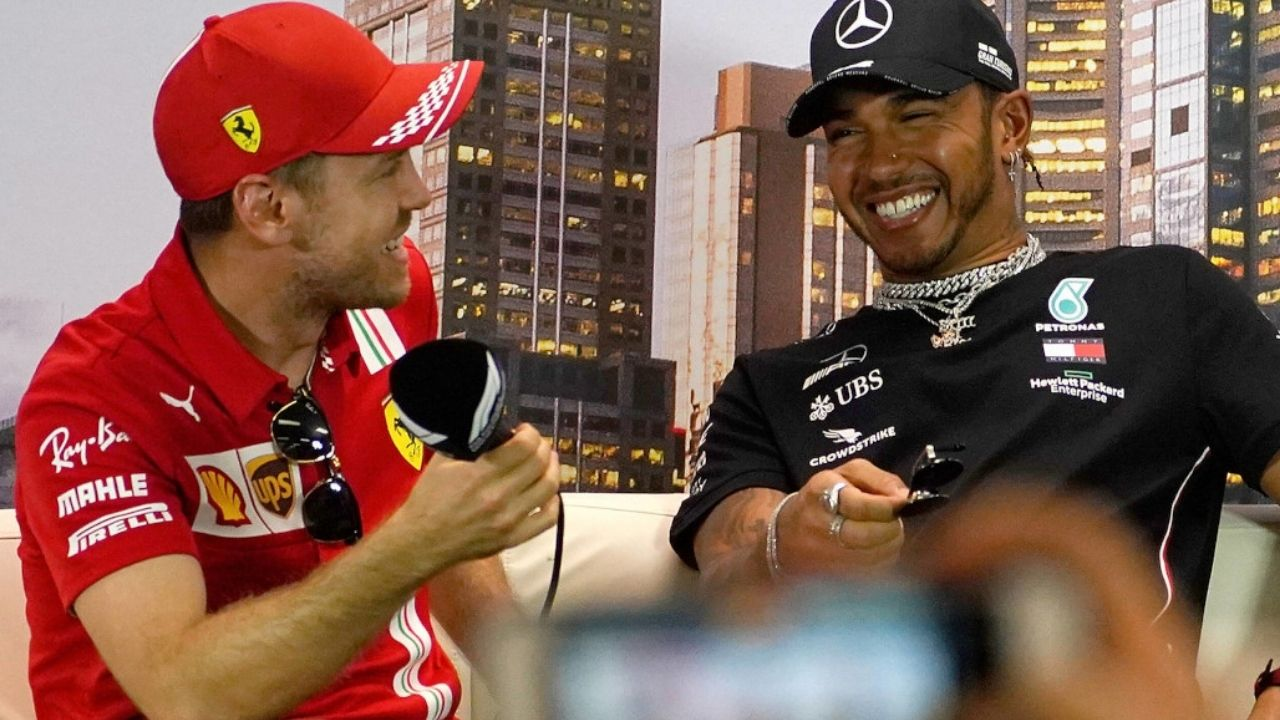 """""""He's a four-time world champion"""" - Sewis bromance in full display as Lewis Hamilton calls Sebastian Vettel his 'favourite' rival"""