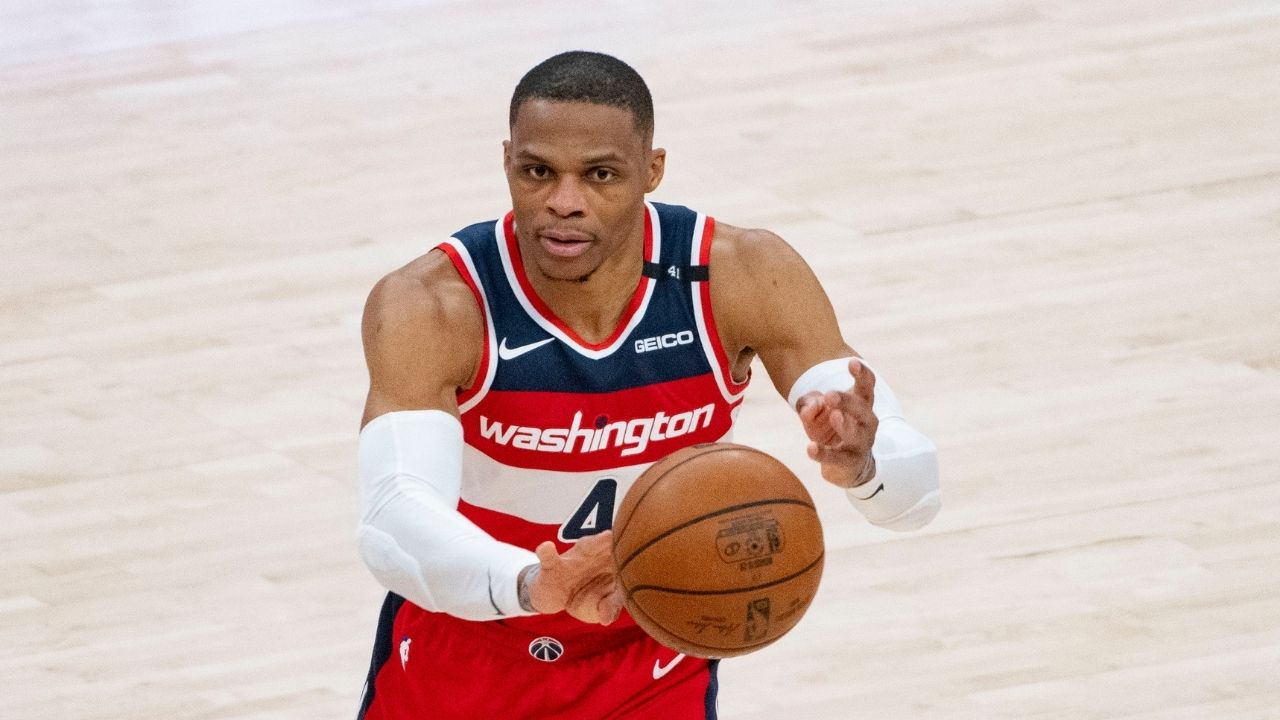 Russell Westbrook triple-doubles: Wizards star is 5 away from Oscar Robertson's NBA record following monster triple-double over Lakers