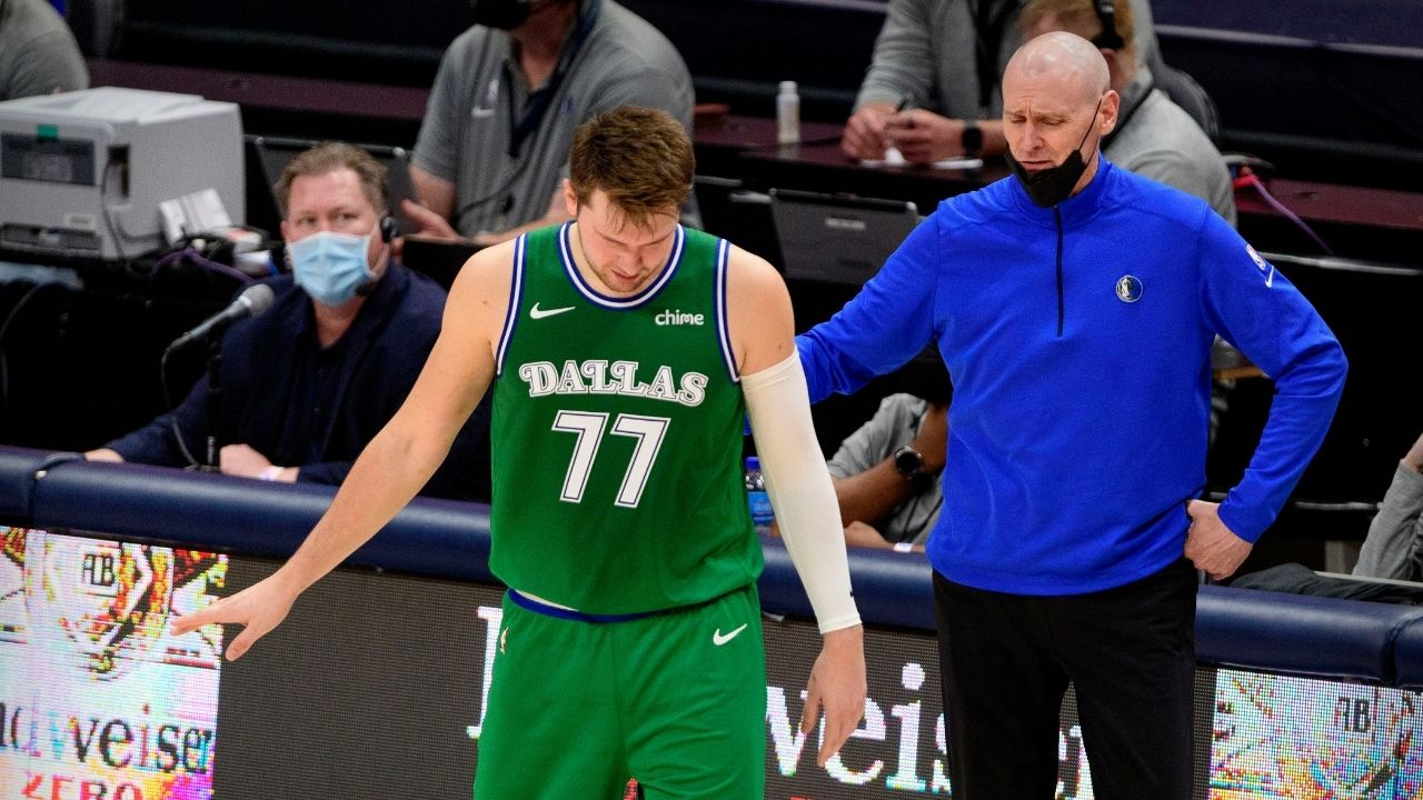 """""""Luka Doncic never says no"""": Rick Carlisle has reportedly lost 'thousands of dollars' betting against the Mavericks star's trickshots in warmups and practice"""