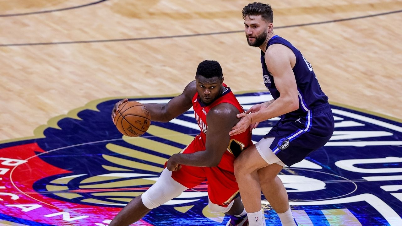 """""""Zion Williamson will go down as one of the most dominant players ever"""": Kendrick Perkins contentiously praises the Pelicans star for his amazing scoring ability"""