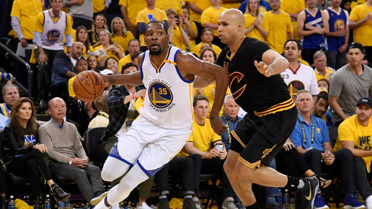 """""""I had LeBron James on my team, and I didn't wanna see Kevin Durant"""": Richard Jefferson has a message for Knicks fans mouthing off Kevin Durant"""