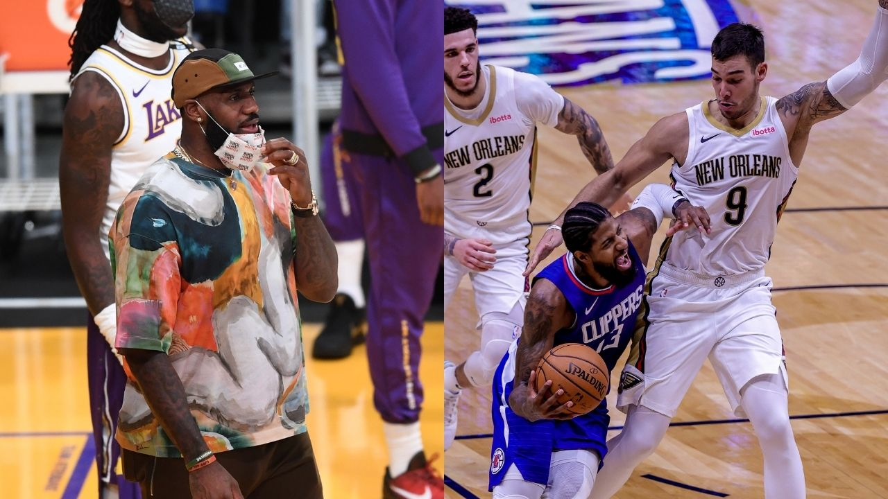 """""""All due respect to LeBron James but the Los Angeles Clippers are better"""": Kendrick Perkins firmly predicts Paul George and co are favored over the 'GOAT' and the Lakers"""