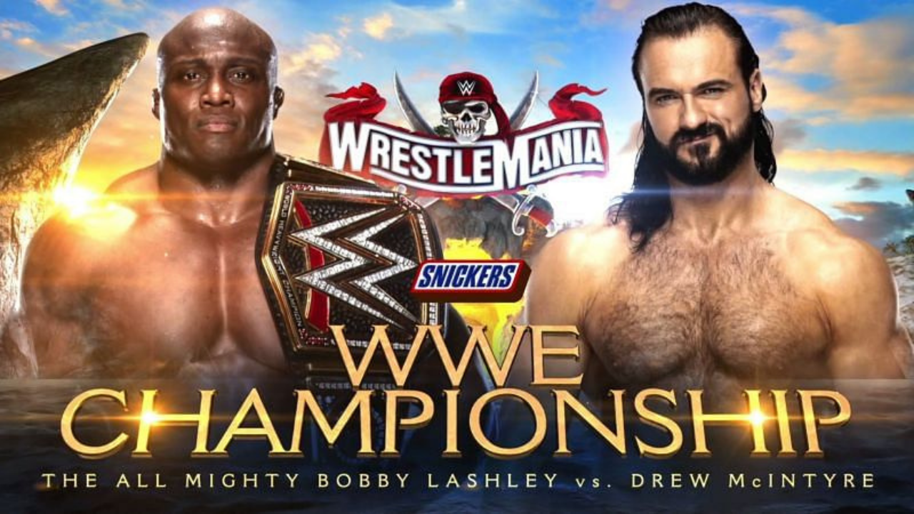 WWE Champion Bobby Lashley comments on the his postion on Wrestlemania 37 Card