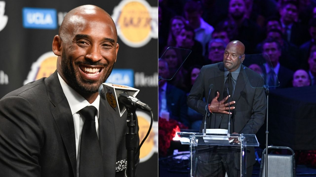 """""""Big brother Michael Jordan to induct lil bro Kobe Bryant"""": Naismith Memorial Hall of Fame announces that MJ will be ushering the Lakers legend to the Hall of Fame"""