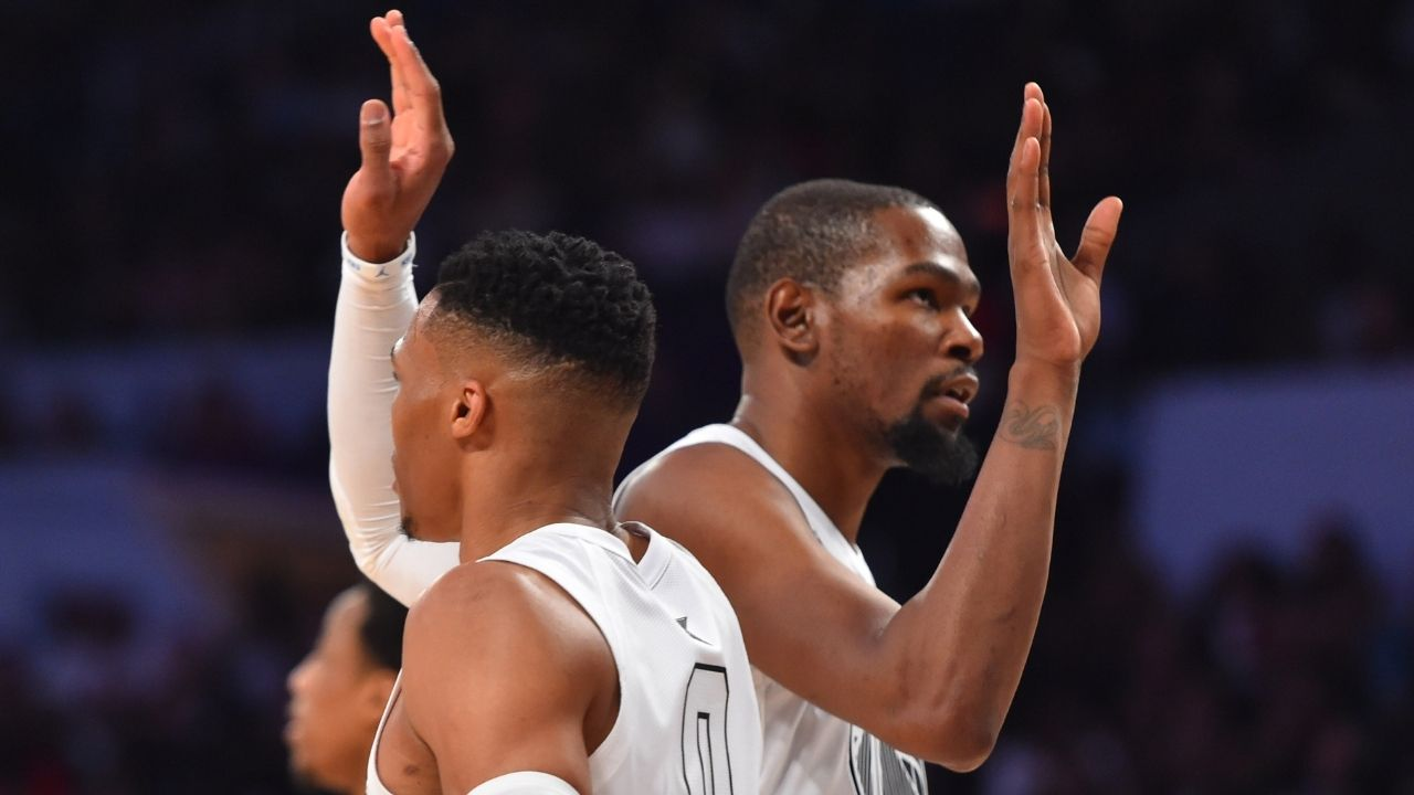 """Stephen A Smith accuses Kevin Durant of intentionally omitting Russell Westbrook from his top 5 teammate list: """"I don't believe that he forgot; I was born at night, not last night"""""""
