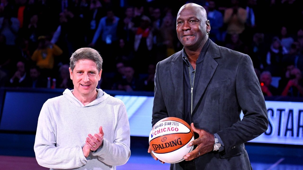 """""""Michael Jordan and LeBron James were unbeaten as teammates"""": When the Lakers star played alongside MJ as a rookie in his basketball camp"""
