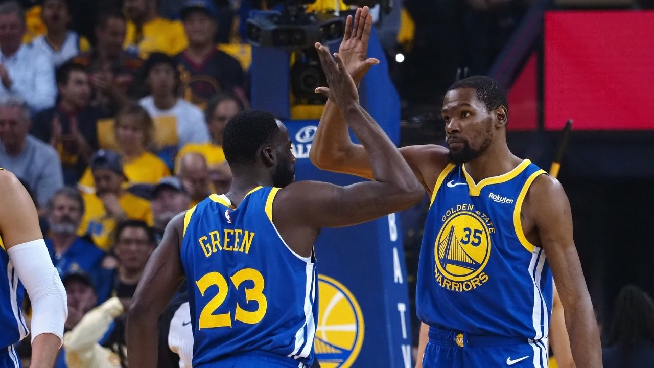 """""""I connected most with Klay Thompson and Draymond Green"""": Kevin Durant opens up on his favorite Warriors teammates on latest podcast episode"""