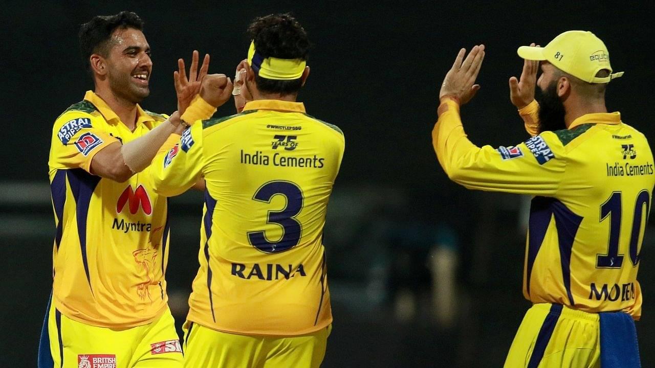 Deepak Chahar wickets in IPL 2021: How many wickets has D Chahar picked in IPL 2021?