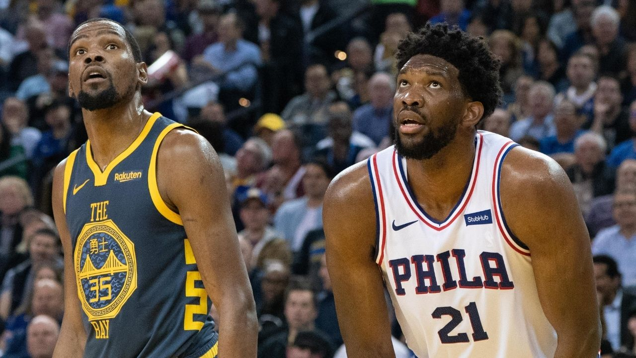 """""""Always seen myself like Kevin Durant"""": Joel Embiid explains how he's changed his game to lead his Sixers to a #1 seed"""