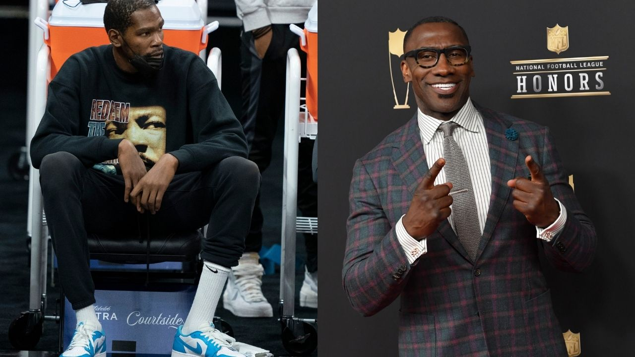 """'Drunk uncle out here lying again"""": Kevin Durant slams Shannon Sharpe for 'LeBron James GOAT' quote with Westbrook meme"""