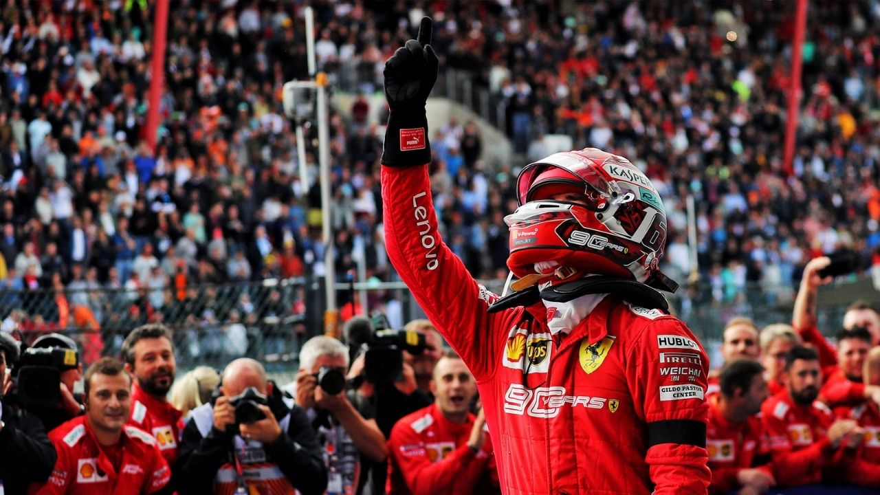 """""""Ferrari is huge in Italy"""" - Charles Leclerc gifted SF90 in which he won the Monza Grand Prix in 2019"""