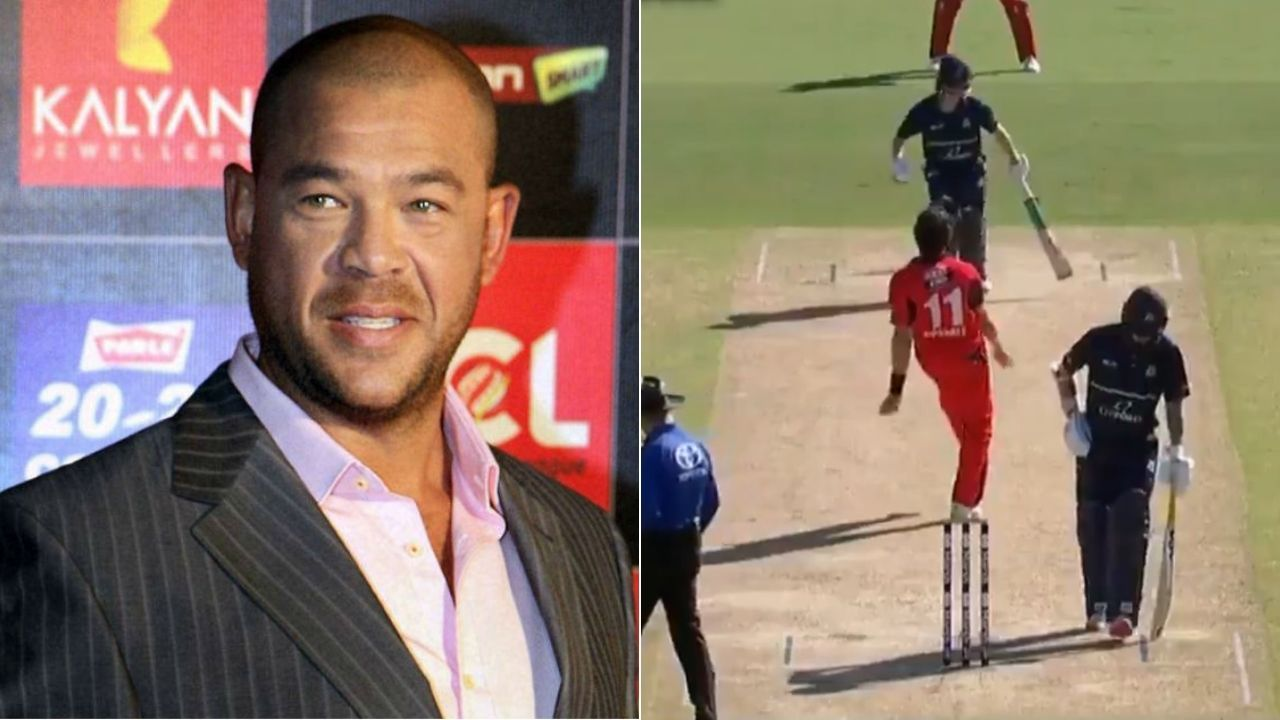 """""""Classic example of obstruction"""": Andrew Symonds reacts to Sam Harper obstructing the field in VIC vs SA Marsh Cup match"""