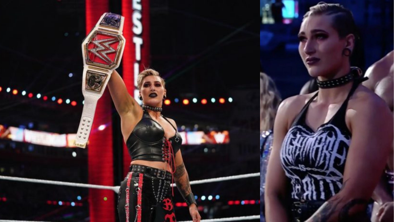Rhea Ripley on why she was crying during Wrestlemania opening