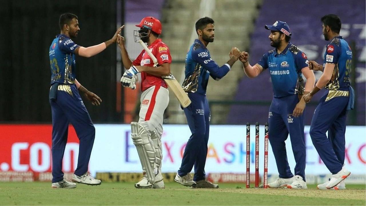 PBKS vs MI Head to Head Records   Punjab Kings vs Mumbai Indians H2H Stats   IPL 2021 Match 17