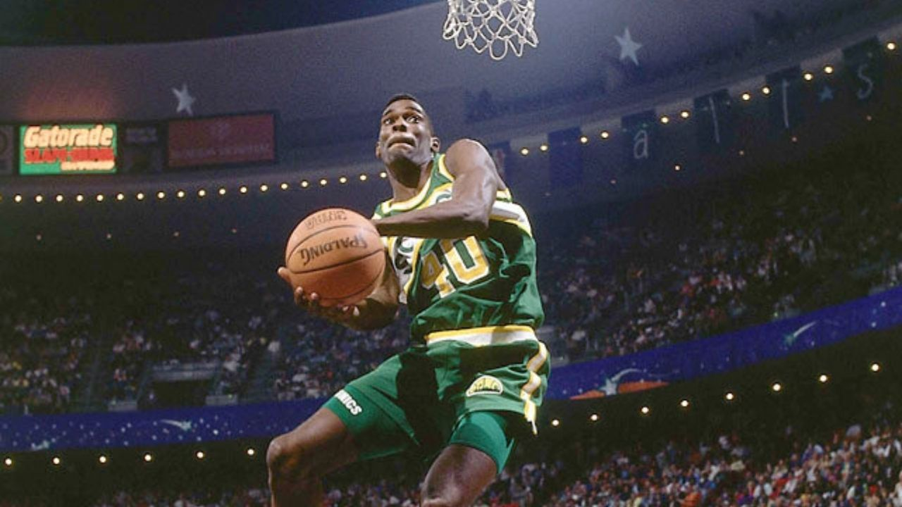 """Shawn Kemp dunked on Chris Gatling, then dapped him"": When Sonics superstar produced the Lister Blister and another poster"