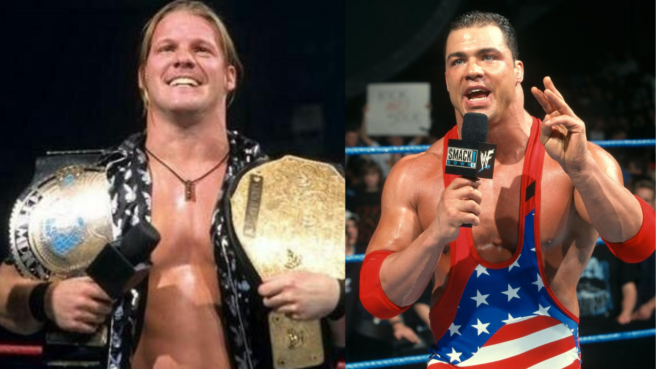Kurt Angle says he was the original choice over Chris Jericho for the WWE Undisputed Championship