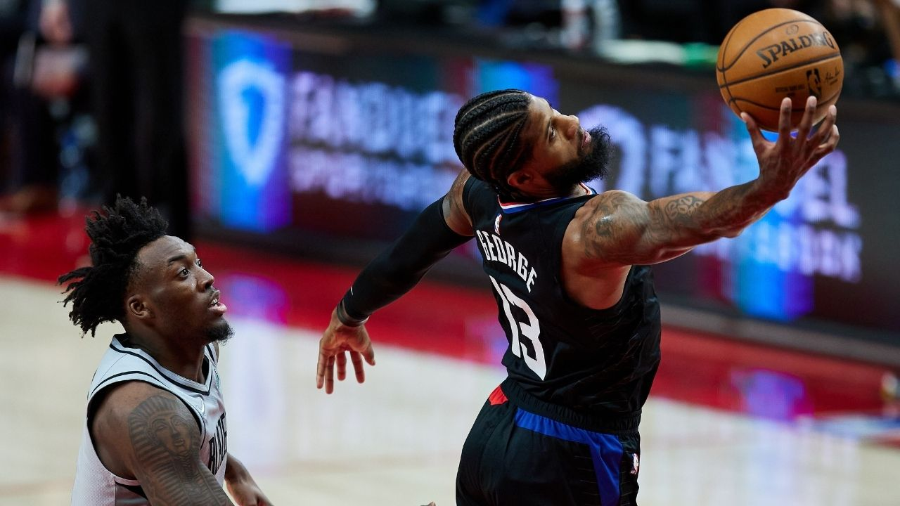 """""""Paul George was special tonight"""": Clippers' coach Ty Lue lauds his superstar forward after his clutch night against CJ McCollum's Portland Trail Blazers"""