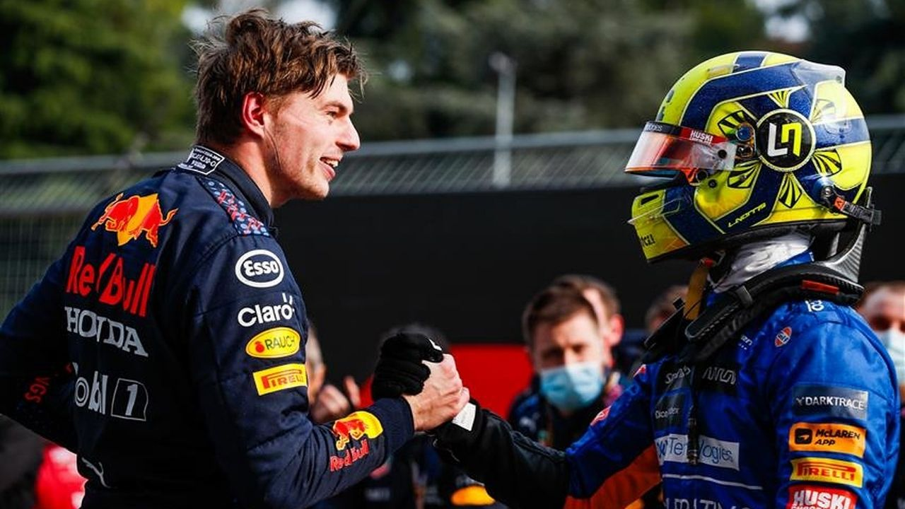 """""""I wouldn't have finished on the podium""""– Lando Norris on why he didn't compete Max Verstappen"""