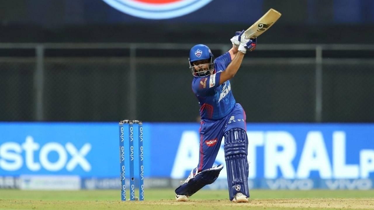 S Mavi cricketer: Prithvi Shaw thwacks six fours in Shivam Mavi over in DC vs KKR IPL 2021 match