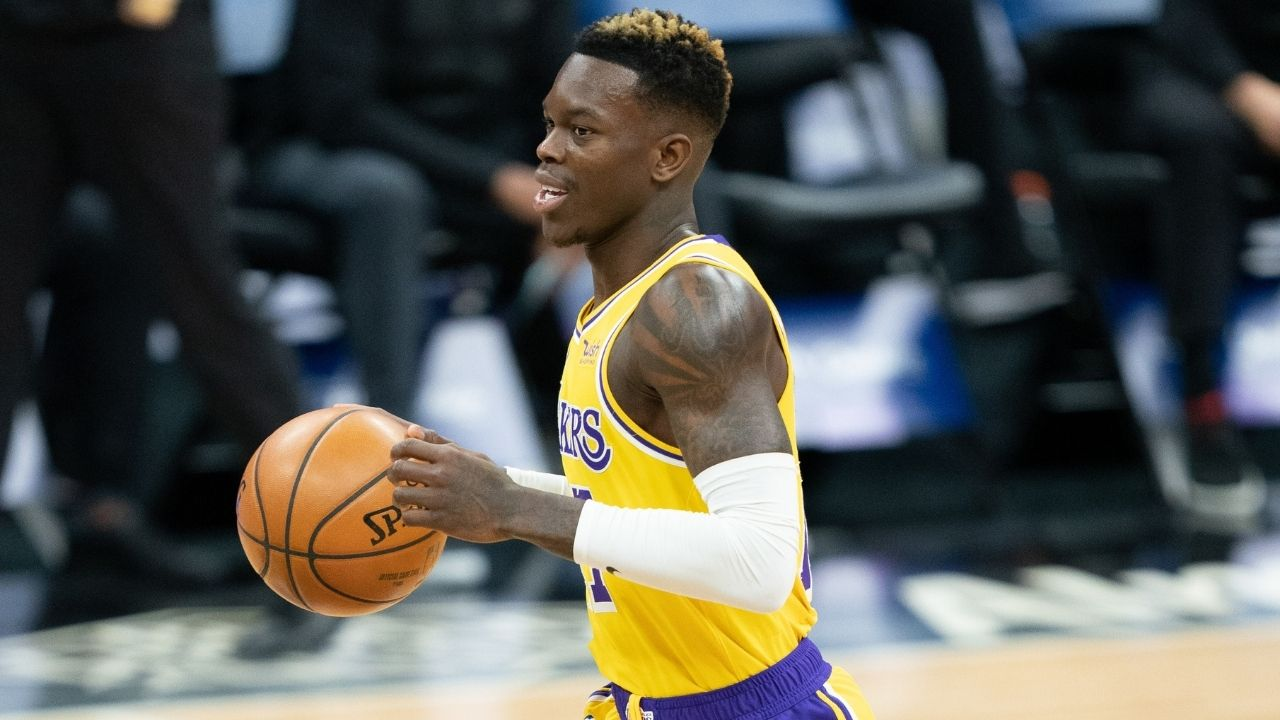 """""""Knicks will pursue Dennis Schroder in free agency"""": Lakers star point guard could leave LeBron James and co to team up with Julius Randle"""
