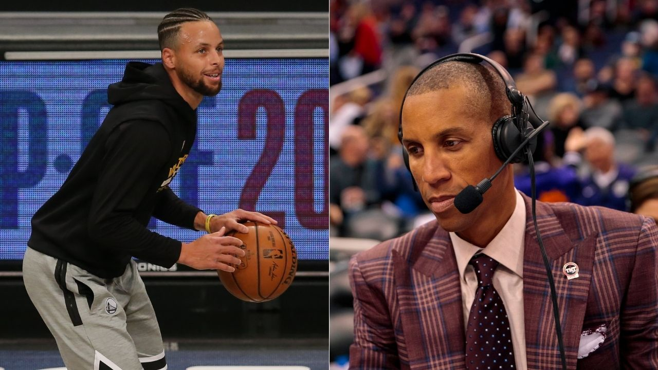 """""""Stephen Curry is a lot like Wilt, Shaq, Jordan and Iverson"""": Reggie Miller compares the Warriors superstar to some of the all-time greats"""