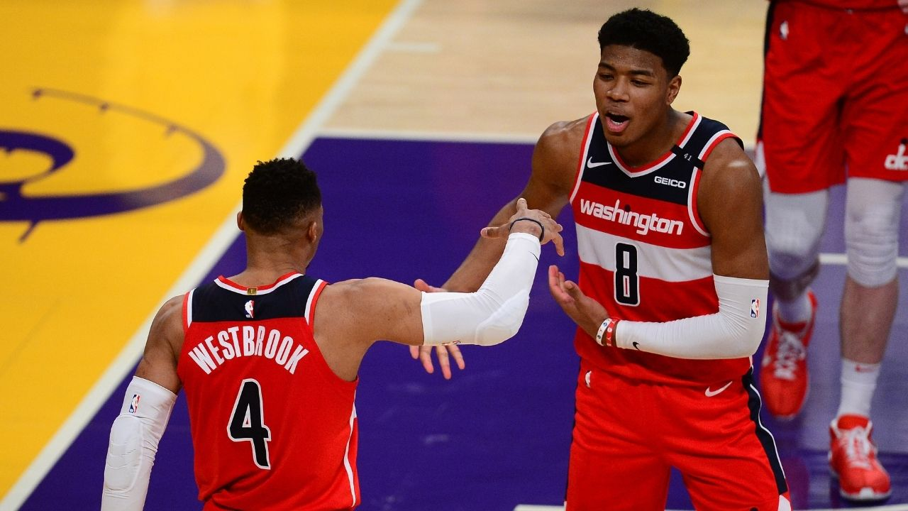 """Westbrook Senpai!"": Japanese-born Wizards youngster Rui Hachimura reveals that he calls Russell Westbrook 'senpai'"