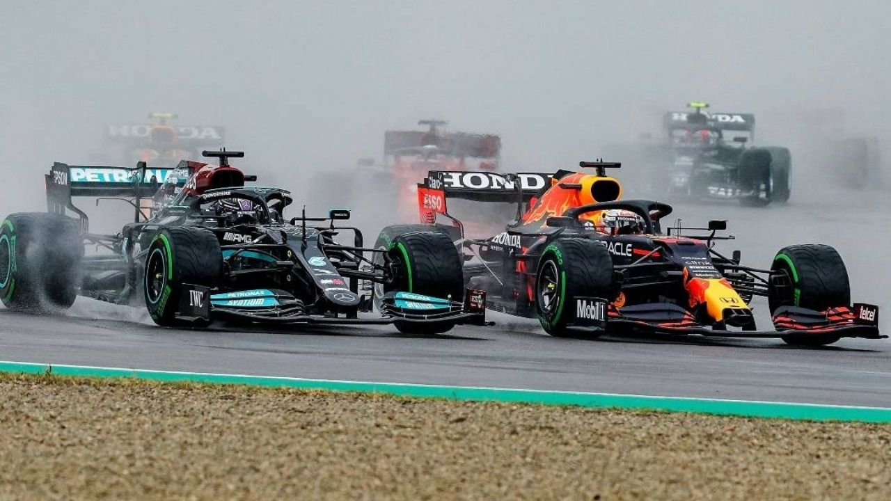 """""""A lot of drivers do that when it is wet""""– Max Verstappen reveals reason behind his great Imola start"""