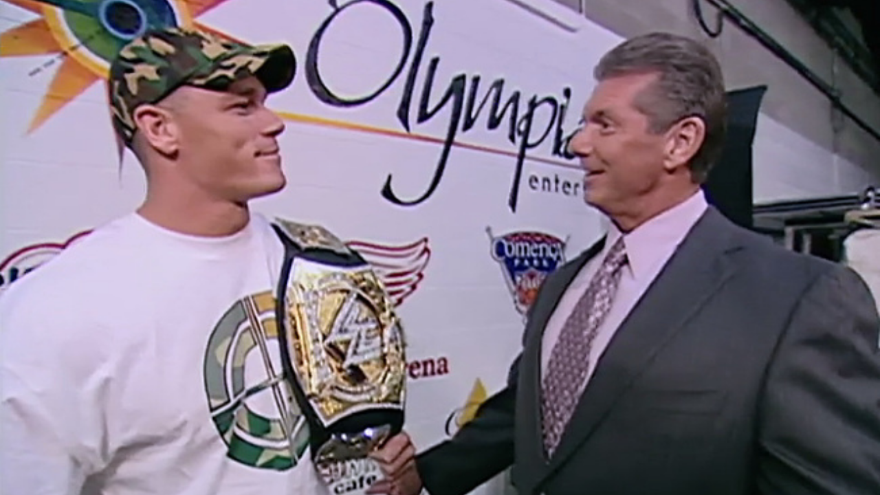 John Cena discusses relationship with Vince McMahon