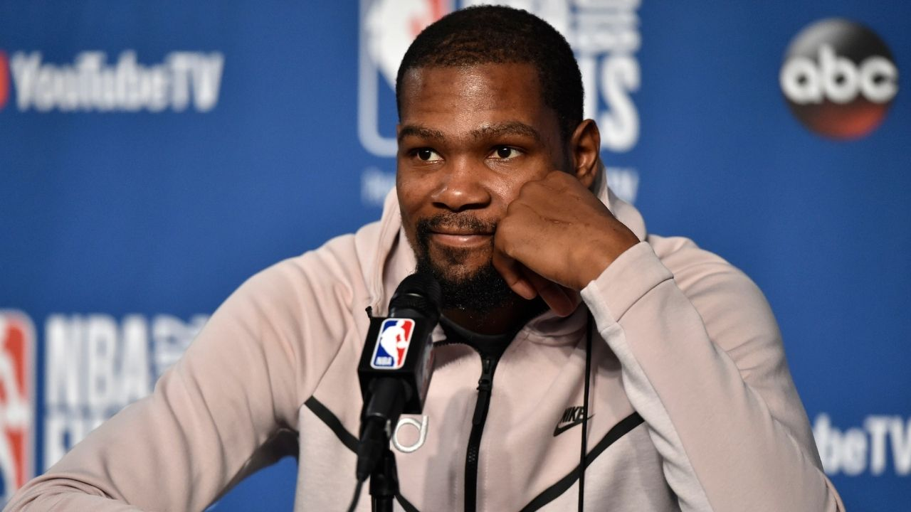 """""""Why you lyin on TV Shannon Sharpe?"""": Kevin Durant accuses Skip Bayless's counterpart of using fake quotes from the Nets star on Undisputed yesterday"""