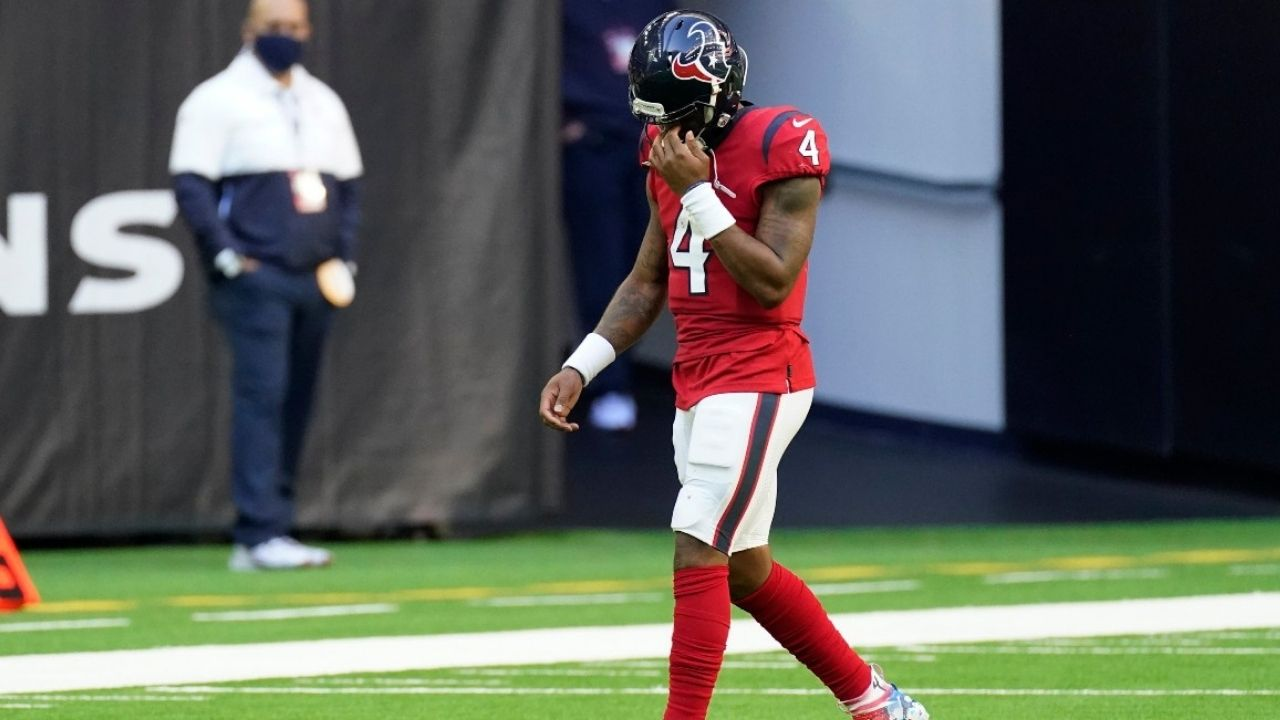 """""""We have nothing to say about that situation at this time"""": Texans HC David Culley has no comments about Deshaun Watson's situation."""