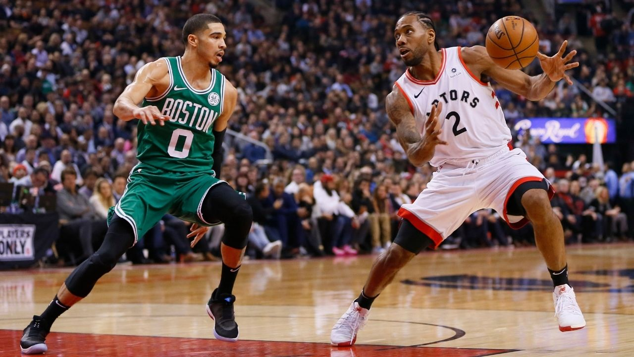 """""""Kawhi Leonard and Paul George are my toughest specific matchups"""": Celtics forward Jayson Tatum explains why Clippers stars have consistently been his biggest tests"""