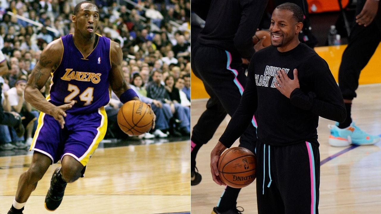 """""""Tell Andre Iguodala I'm giving him 50 tonight"""": When Kobe Bryant trash talked the former Sixers star before leading the Lakers to a win"""