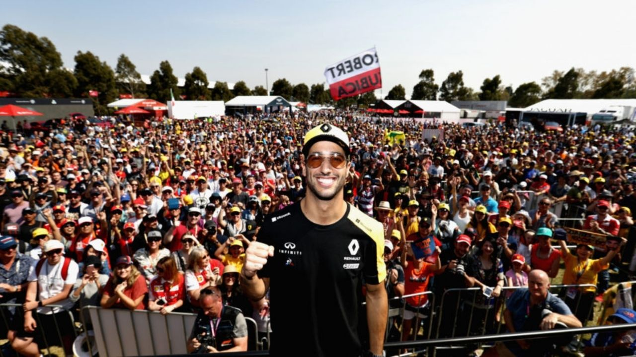 """A bunch of us drivers were consulted on the changes""- Daniel Ricciardo on Albert Park reforms"