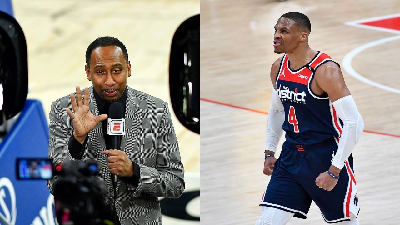 """Russell Westbrook, we know what you can do, but where is your chip?"": Stephen A Smith continues the conversation regarding the Wizards star's lack of playoff success"