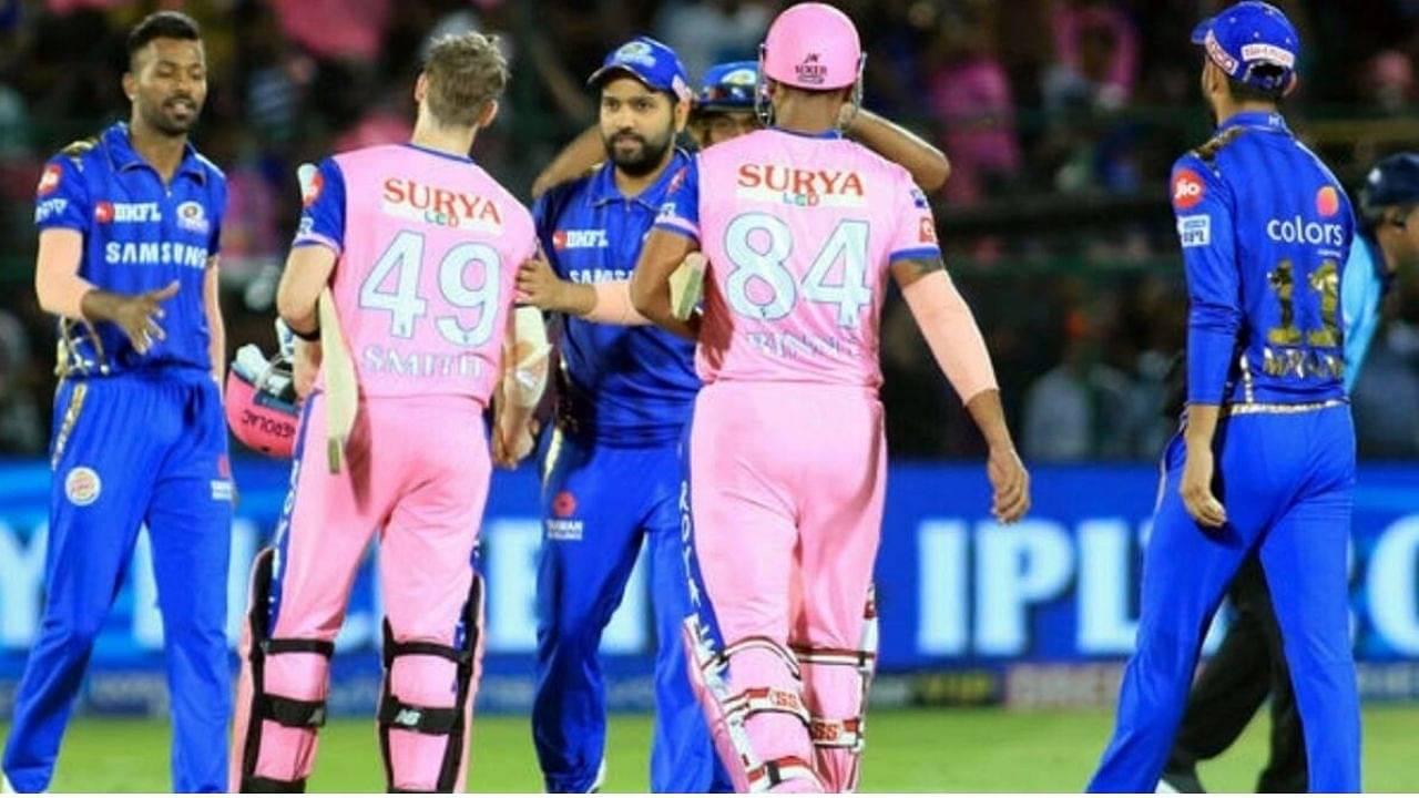 MI vs RR Head to Head Records in IPL | Mumbai Indians vs Rajasthan Royals Stats | IPL 2021 Match 24