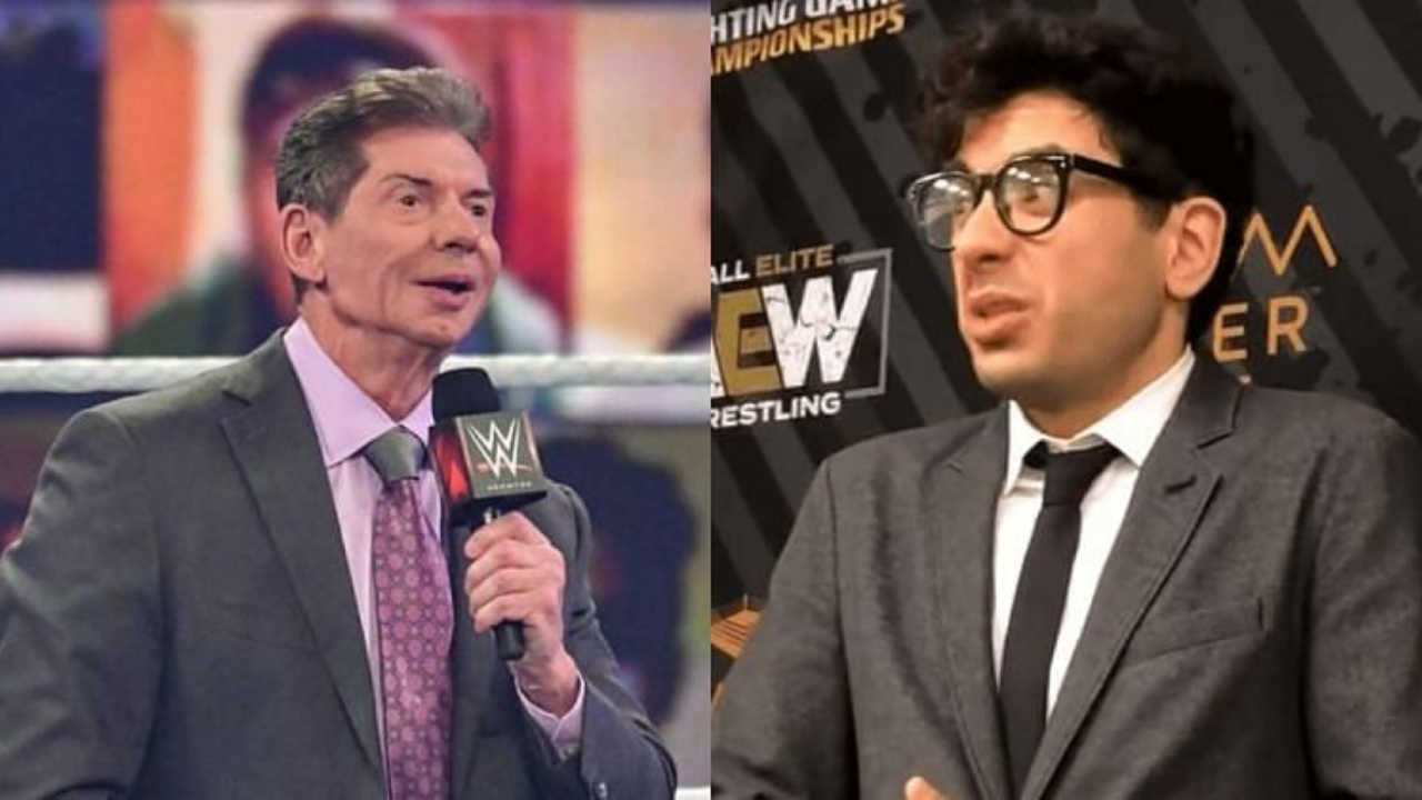 AEW President Tony Khan gives WWE advice on how to deal with rain