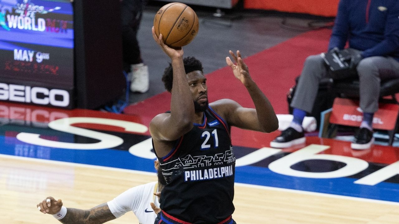 """""""MVP wasn't supposed to be mine"""": Joel Embiid reveals his readiness in leading the Sixers to playoff battles despite his knee injury in March"""