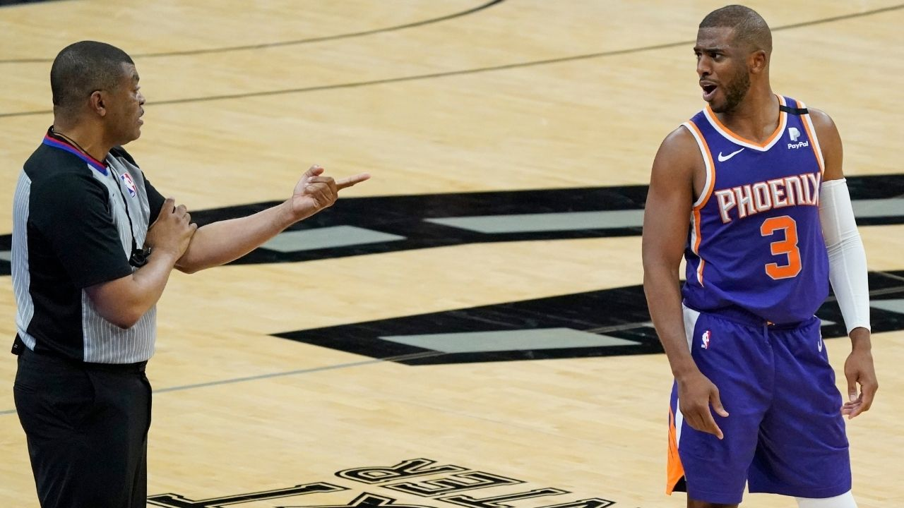 """""""Trying to break my record of not winning no championships"""": Chris Paul pokes fun at his Playoff woes ahead of potential Suns matchup against LeBron James and the Lakers"""